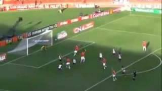 Internacional 2 x 2 Flamengo, Show de Ronaldinho e Damião - 21/08/11