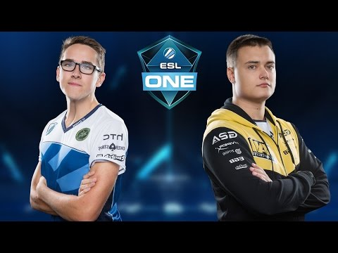 CS:GO - Liquid vs. NaVi [Dust2] Map 3 - ESL One New York 2016 - Semifinal