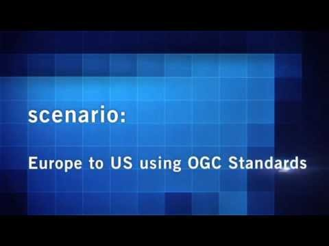 OWS-9 Europe to US using OGC standards