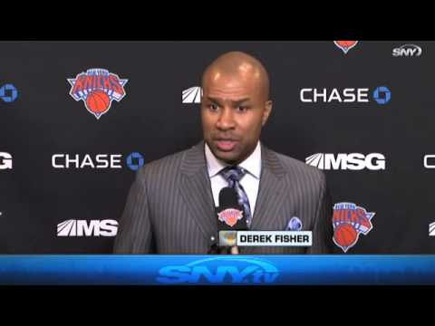 Video: Knicks Fall Hard to Bulls, Fisher Reacts