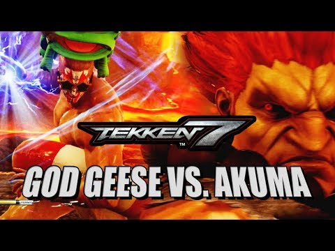 GOD GEESE VS. AKUMA - Week Of! Geese: Tekken 7 DLC (видео)