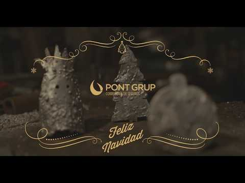 Pont Grup convierte muletas en adornos navideños