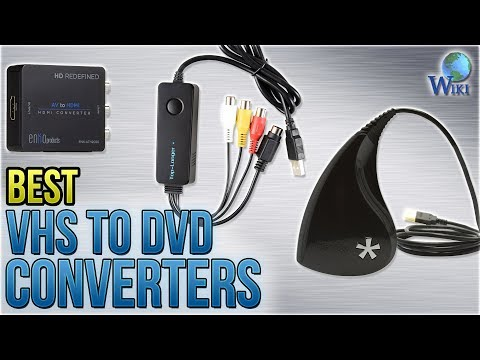 9 Best VHS To DVD Converters 2018