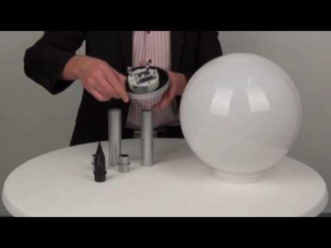 s´luce FORCE LED-Solar-Kugelleuchte, Licht-Design Skapetze