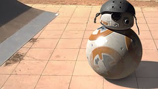 Episode 1:  SkateboardingPlease subscribe for more BB-8 in real life videos! Become a Faceook Fan:https://www.facebook.com/PhysicallyShaken