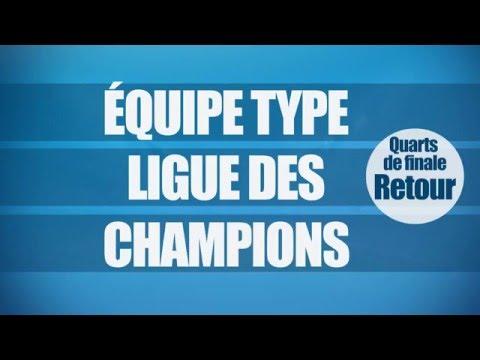 Ligue des Champions : l'équipe type des quarts de finale retour !