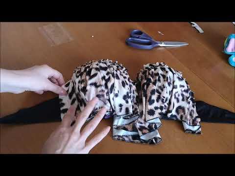 Come fare un costume  - BIKINI DIY - Refashion Tutorial