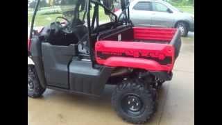 6. 2013 Honda BIG RED SIDE X SIDE FOR SALE BY DEALER MICHIGAN