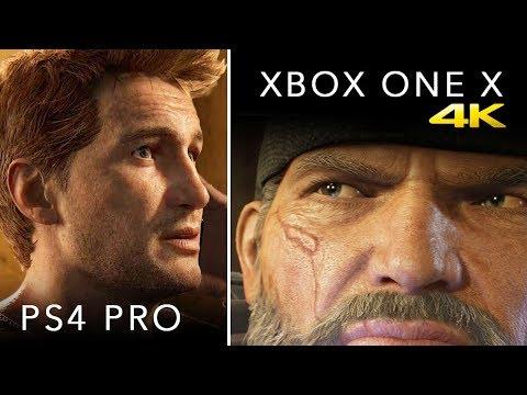 Xbox One X vs PS4 PRO: GRAPHICS, SPECS, PRICE & MORE [4K VIDEO]