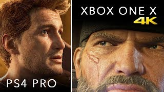 Xbox One X vs PS4 PRO: GRAPHICS, SPECS, PRICE & MORE [4K VIDEO]