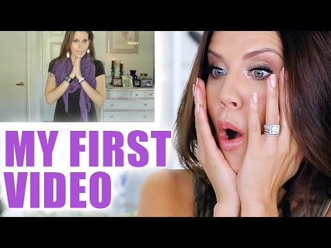 REACTING TO MY FIRST VIDEO on YouTube