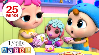 Video Let's Say Please and Thank You (Good Manners Song ) Nursery Rhymes by Little Angel MP3, 3GP, MP4, WEBM, AVI, FLV Januari 2019