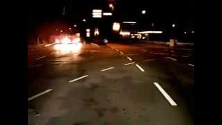 Kaiserslautern Time Lapse Drive at night
