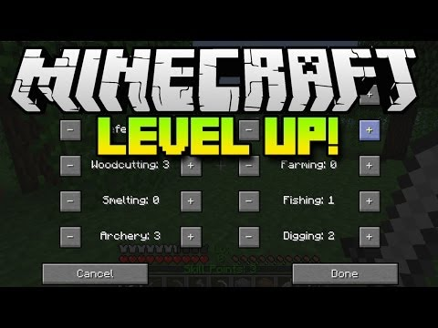 Minecraft Mods LEVEL UP Mod (Mod Spotlight)