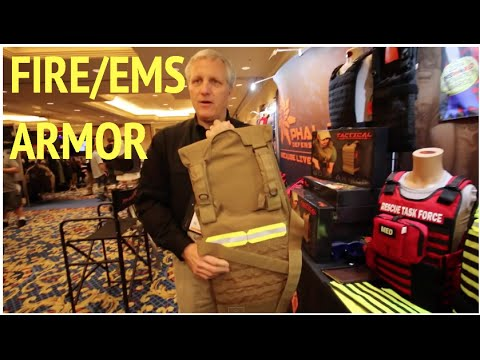 Fire & EMS body armor :Shot Show 2015