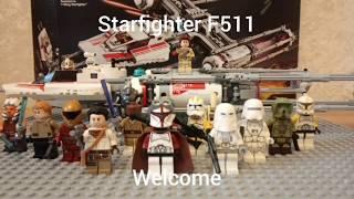 8. В�� мо� коллекци� Лего звездных войн 2020(начало года)