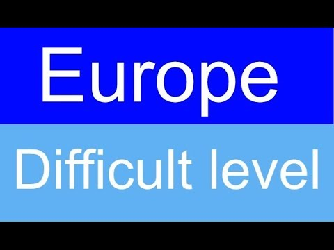 Countries and capitals quiz - Europe - Level: Difficult