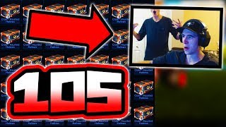 """BIGGEST 105 """"HH CRATE"""" OPENING ON YOUTUBE!! ( Rocket League Halloween Event )"""