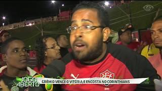 Ontem (19), o Tricolor gaúcho enfrentou a equipe do Vitória no Barradão e venceu por 3 a 1 com gols de Arthur, Ramiro e Fernandinho. Agora apenas seis pontos separam o Grêmio do líder Corinthians.