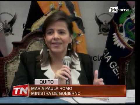 Gobierno valorará lo ocurrido durante las manifestaciones, según ministra Romo