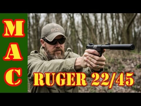 Ruger - The Ruger MkIII 22/45 .22LR pistol marries two classic designs. Ruger brought their classic .22 pistol together with the 1911 to make a new classic, the 22/4...
