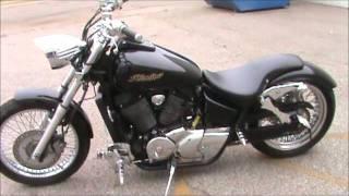 4. Honda Shadow Spirit VT750 Harley Swap 05 750 Round Two