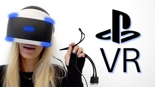 PSVR Unboxing | PlayStation 4 | iJustine