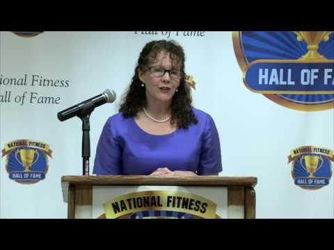 Kathy Kaehler introduces Callan Pinckney - 2016 NFHOF Inductee