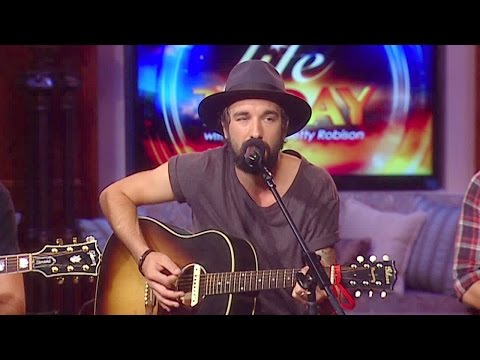 """JamesRobison - The southern rock band performs an acoustic version of their hit song """"When Mercy Found Me"""