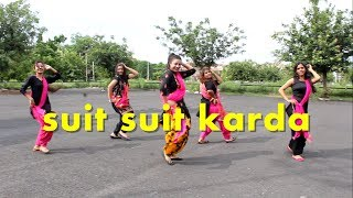 THE DANCE MAFIA [ dance and fitness studo] mohali chandigarhsuit suit karda  lyrical bhangra choreography by the dance mafia