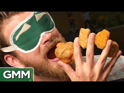 9 • E72___  _    Blind Chicken Nugget Taste Test