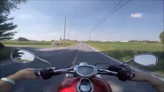 10. 2012 Yamaha Stryker 1300 Test ride Review