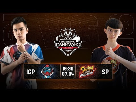 IGP Gaming vs SWING Phantom - Vòng 8 Ngày 2 - Đấu Trường Danh Vọng Mùa Xuân 2019 - Thời lượng: 1:08:37.