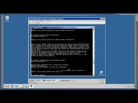 Windows Server 2003 to 2008 R2 Upgrade