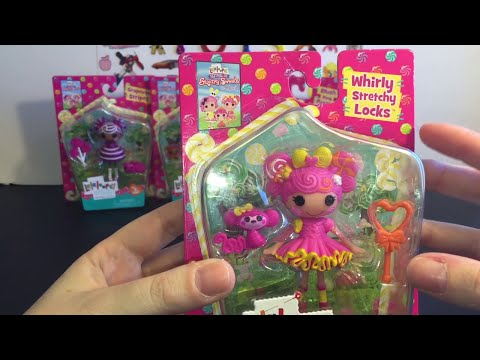 Lalaloopsy Festival of Sugary Sweets Mini Figures Toy Opening & Review