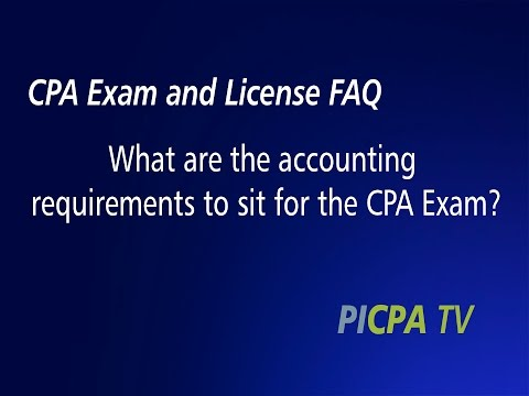 What Are the Accounting Education Requirements to Sit for the CPA Exam?
