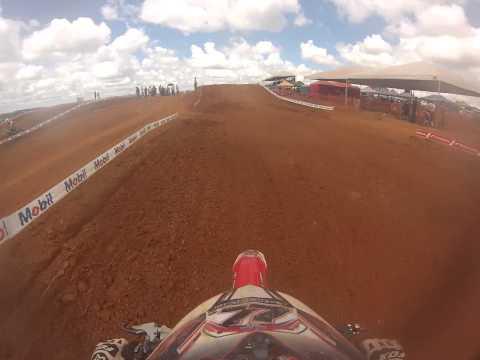 GoPro HD: Guilherme Lima #77 MXFL Copa Goias Motocross 2014 Alexania