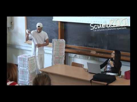 [video divertente] pizzaiolo consegna 100 pizze durante la lezione
