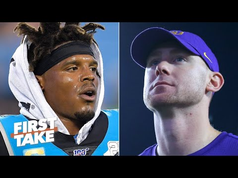 Will Cam Newton benefit from LSU's Joe Brady joining the Panthers' coaching staff? | First Take