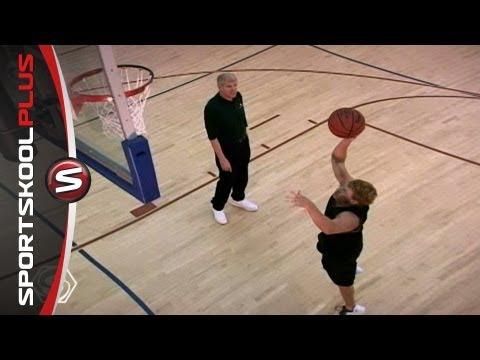 how to shoot a basketball demonstrative speech