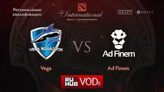 Ad Finem vs Vega, game 1