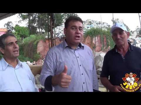 Prefeito Ayres Scorsatto mostra o Lixão de Juquitiba deixado pelo Ex prefeito Francisco Junior para o Deputado Estadual Jorge Wilson o Xerife do Consumidor