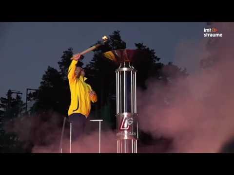 Latvijas IV olimpiādes atklāšanas ceremonija
