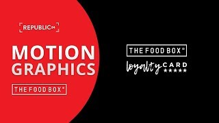 The Food Box - Loyalty Card