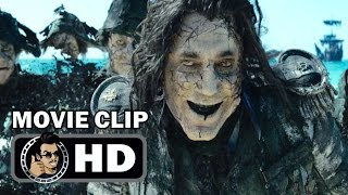 PIRATES OF THE CARIBBEAN: DEAD TELL NO TALES Movie Clip - Ghosts (2017) Johnny Depp by JoBlo HD Trailers