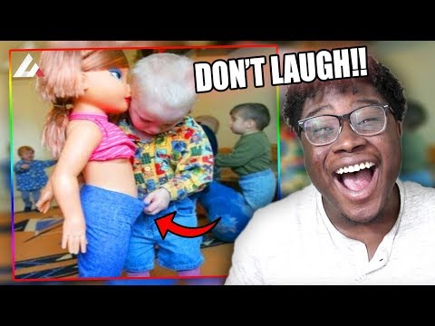 THIS BABY IS A SAVAGE!   Try Not To Laugh Or Grin Challenge DANK MEME EDITION!
