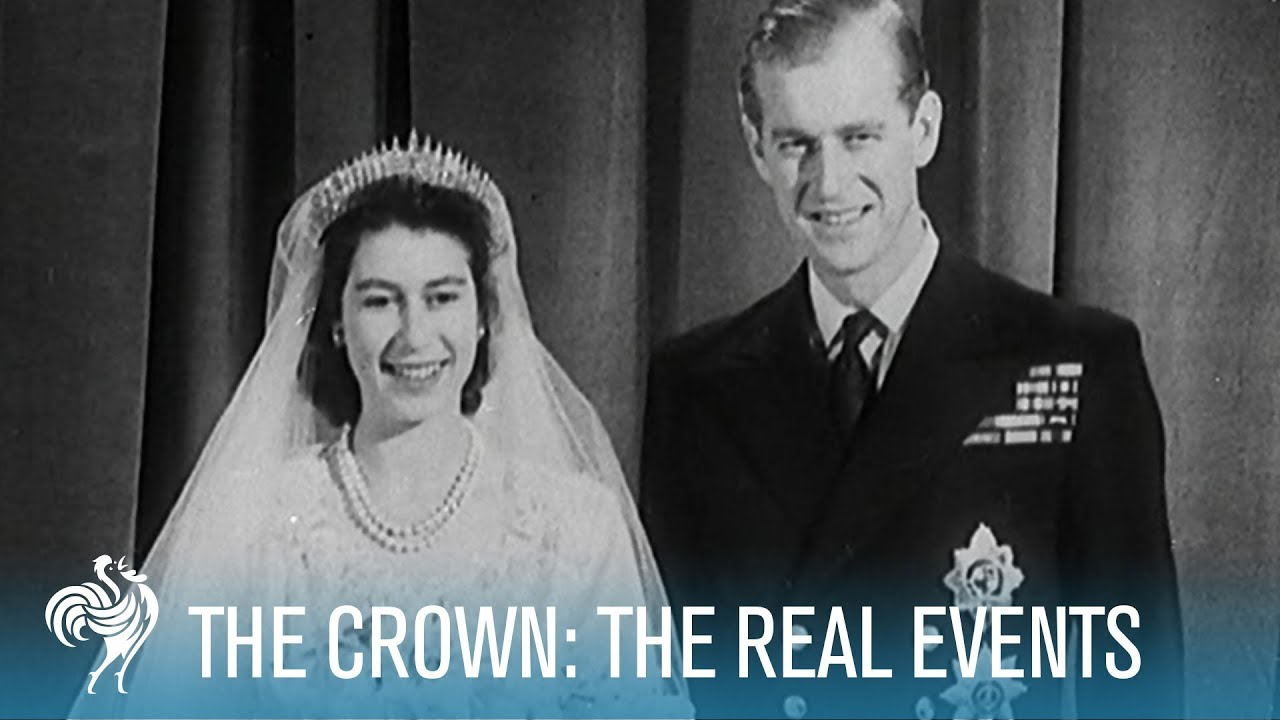 The Crown: The Real Events | British Pathé