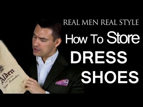 How To Store Men's Dress Shoes – Keeping Dust Off Your Boots – Male Footwear Style Tips