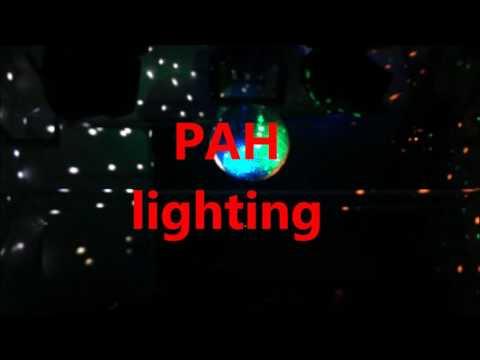 Đèn LED rọi trái châu, quả châu kiếng cho sân khấu