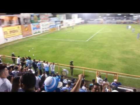 Alianza F.C y su hinchada de visita en Metapán. - La Ultra Blanca y Barra Brava 96 - Alianza